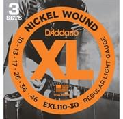 D'Addario EXL110/3D